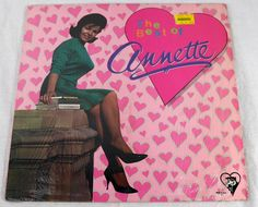 Annette Funicello 1984 The Best of Annette Vinyl LP Comp Surf Rock Music NM #RockSurf1980s