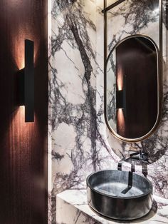 Decoring with Marble. See more inspirations at http://www.brabbu.com/en/inspiration-and-ideas/ #LivingRoomFurniture, #ModernHomeDécor, #MarbleDécorIdeas: