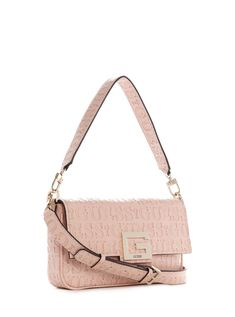 Guess Print Crossbody Bag with Adjustable Sling Strap