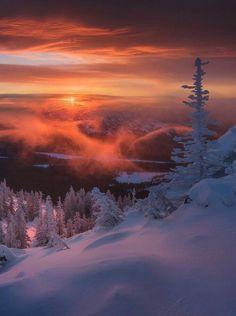 Taganay national park Russia by Daniel Kordan x landscape Nature Photos Winter Szenen, Winter Sunset, Winter Light, Winter Travel, Winter 2017, Nature Pictures, Cool Pictures, Beautiful Pictures, Landscape Photography