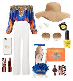 either other by beca-skopal on Polyvore featuring polyvore, fashion, style, Roland Mouret, Moschino, Majorica, Jessica Carlyle, Old Navy, BaubleBar, Chloé, Teeez, OPI, clothing, fabulous, women, BeautyandtheBeast, fashionset and belady