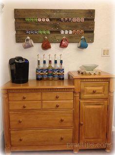 Coffee Bars-Stations :: Kris~ Handmadeology.101's clipboard on Hometalk :: Hometalk