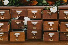 Lovegood Wedding & Event Rentals | Library Catalog Cabinet