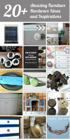 20+ amazing furniture hardware ideas and inspirations | Hometalk