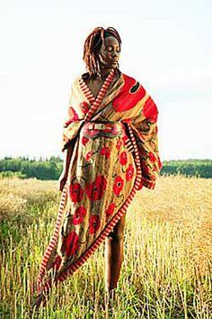 Ravelry: Masai Shawl pattern by Christel Seyfarth