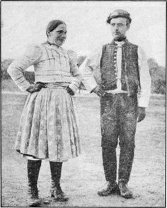 Country Couple of Conservative Moravia Country Couples, Costumes, Folk Costume, Black Forest, Vintage Pictures, Vintage Photographs, Czech Republic, Old Photos, Old School