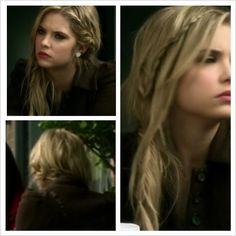 Hannah, pretty little liars, S2E23, #braid