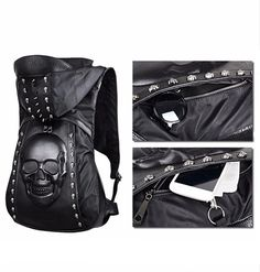 3D Skull Backpack available now with FREE SHIPPING Do you need a backpack  for your computer 6903d3a0c5