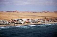Swakopmund, Namibia. Loved that it was so cool in Africa's December.