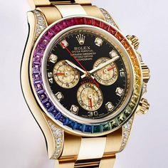 The brand new Rolex Daytona Rainbow watch