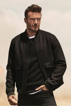 David Beckham shows you how to wear his new H&M Modern Essentials line