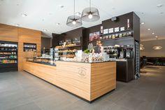 Nussbaumer Bakery Café by Barmade Interior Design, Zug - Switzerland