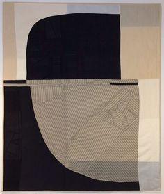 Debra Smith, pieced vintage silk