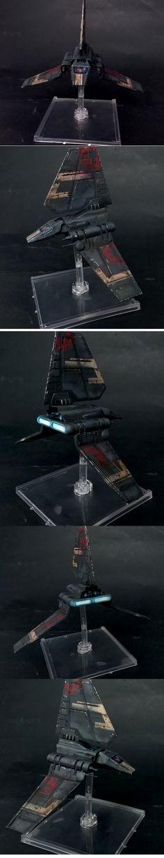 Lambda Shuttle X-Wing re-paint