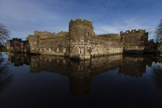 Beaumaris Castle, Isle of Anglesey, Wales