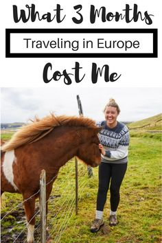 I quit my job and decided to take off on a journey around the world. Here's what 3 months traveling in Europe cost me. Read for how much it cost me per day to travel around europe!