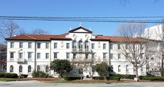 "Emory University's Harris Hall. Where I lived for 2 years. Use to be the nurses dorm. Lovely building w huge ""dating parlor"""