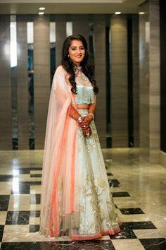 """Jayesh Patel - Hemal Photo """"Portfolio""""Weddig Bridal Lehenga - Bride in Amazing Saree Gown. More information on WeddingNet #weddingnet #indianwedding #indianbride #indianwedding #bridallehenga #lehenga #pink #gold #beige #weddinglehenga #weddingsaree #bride #gown"""