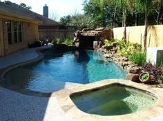 Katy Custom Pools - pool for small backyard