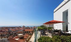 Hotel do Chiado in Lisboa, Portugal #hotel #lisboa #cityview #terrace #rooftop