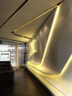 Fuyi River Housing Sales Center / Lab Modus (http://www.pinterest.com/AnkAdesign/office-buldings-design/)