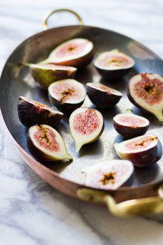 The Bojon Gourmet: Za'atar Broiled Figs with Pecans + Goat Cheese Honey Ice Cream