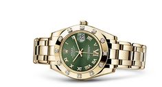 Discover the Pearlmaster 39 watch in 18 ct yellow gold on the Official Rolex Website. Model: 86348SABLV