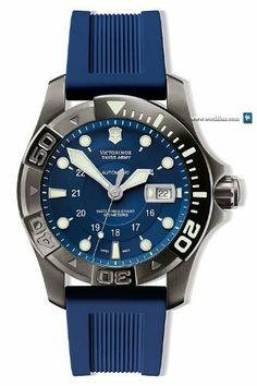 Victorinox Swiss Army Dive-Master 500 Mechanical Blue Dial Men's watch #241425 Victorinox Swiss Army. $721.00
