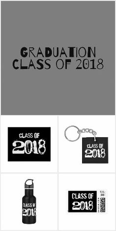 Graduation Class of 2018 Grunge Collection   #Graduation #GraduationGifts #ClassOf2018 #ClassOf2018Gifts #GraduationGrungeGifts #GrungeStyle #Design #GraduationClassOf2018 #JennLenayDesigns #Zazzle