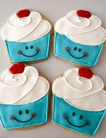 Cupcake Cookies~                             By oh sugar, blue