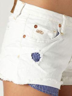 Breezer Beachy Easel White Shorts