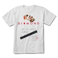 Diamond Casino Tee, Spring 2018 Delivery 1 Tee Printable - Diamond Supply Co.