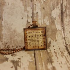One of your favorite childhood hymns proudly displayed in a 1 antique copper pendant with matching 24 ball chain necklace.   *** SPECIAL BUY*** Take advantage of our 2 for $20 deal! When you buy any two necklaces just add the coupon code 2FOR20 and get both necklaces for just $20