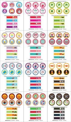 Free Cupcake Party Printables for Every Occasion | Tween Craft Ideas for Mom and Daughter