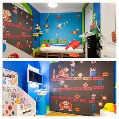 The geekiest room in Lisbon! Book it on Airbnb! #SuperMario #nintendo #wii #wiiu