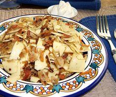 Cabbage Noodles With Crispy Bacon Recipe - Food.com
