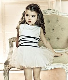 Mischka Aoki - Luxury brand for children flower girl dress alex