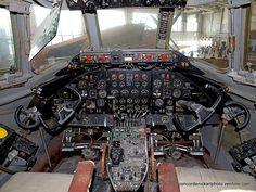 Vickers Viscount Cockpit