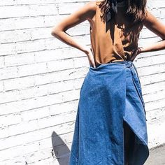 UUMMMMM YEAAH  @umyeahthanks_ looks gorgeous in @thefifthlabel 'infinity skirt'  by mixitupboutique