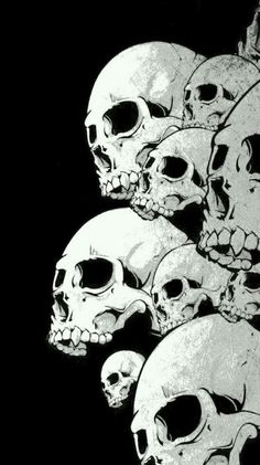 Skull Wallpaper, Dark Wallpaper, Wallpaper Backgrounds, Wallpapers, Dessin Old School, Totenkopf Tattoos, Photocollage, Wow Art, 3d Prints