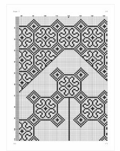 Cross Stitch Designs, Cross Stitch Patterns, Hand Embroidery, Embroidery Designs, Prayer Rug, Hama Beads, Blackwork, Diy And Crafts, Sewing Projects