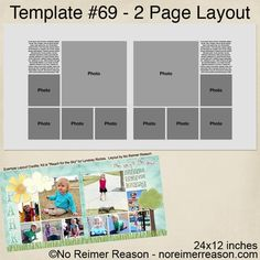 Free downloadable digital scrapbook layout