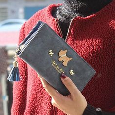 """Onyx Design Leather """"Meet you there"""" Wallet!"""