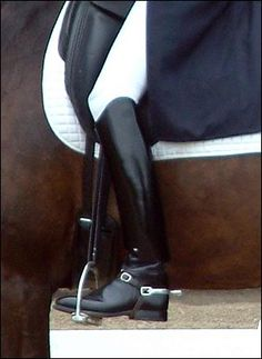 I love riding boots