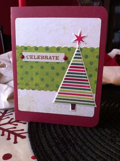 Maybe my favorite card that I made this year... well I like the Joy one too...