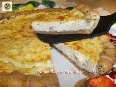 Torta salata alla ricotta prosciutto e robiola