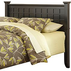 Possible headboard for guest room    @Overstock - Sleek and modern, this stylish Home Styles Arts & Crafts headboard will bring bold, sophisticated touch to your bedroom decor. This headboard features a durable wood construction and rich black finish.http://www.overstock.com/Home-Garden/Home-Styles-Arts-Crafts-Black-Queen-Full-Headboard/6620959/product.html?CID=214117 $218.78