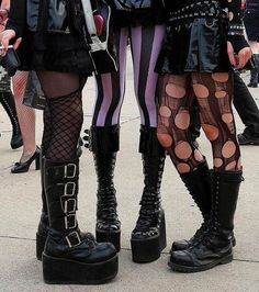 Grunge Goth, Grunge Hair, Grunge Style, Emo Goth, Moda Aesthetic, Aesthetic Clothes, Look At My, Look Cool, Alternative Outfits