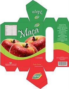 Sincronizando Ideias: Portfólio - Embalagem para frutas