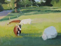 Pasture shadows study #2